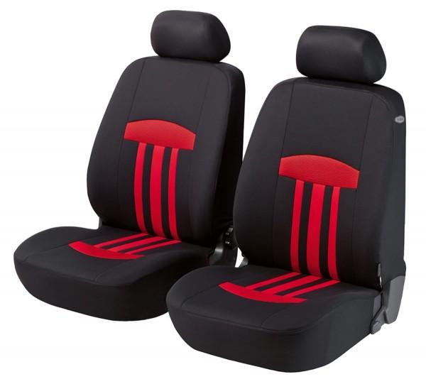 Suzuki, coprisedili, sedili anteriori, nero, rosso,
