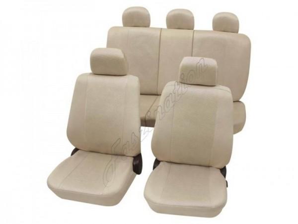 Coprisedili per auto, set completo, Alfa Romeo Alfasud, beige crema