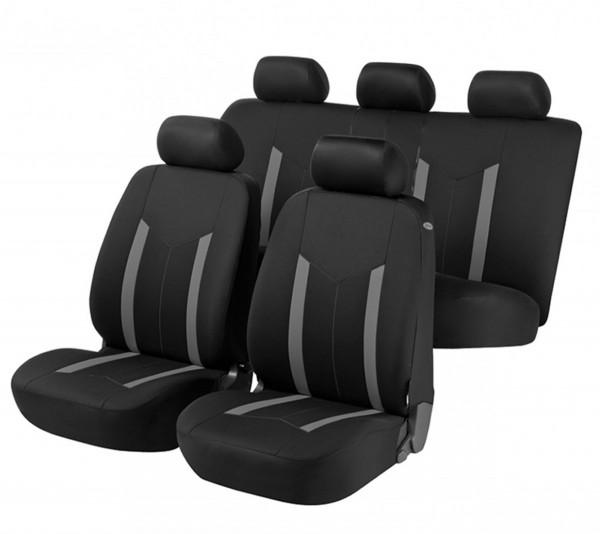VW Jetta, coprisedili, set completo, nero, grigio,