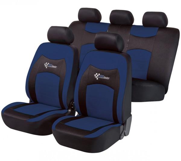 Ford Ranger, coprisedili, set completo, nero, blu,