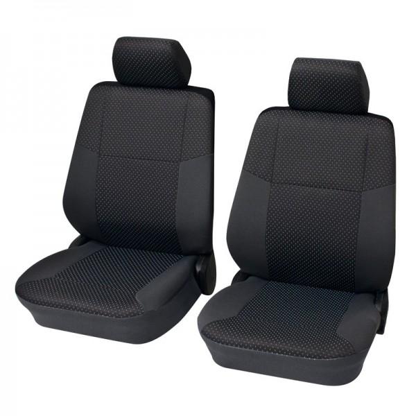 Coprisedili per auto, guarnizione per sedile anteriore, VW T5 ,antracite nero
