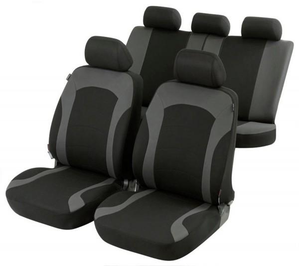BMW X5, coprisedili, set completo, nero, grigio,