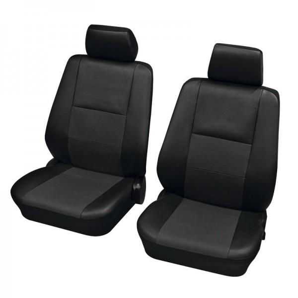 Coprisedili per auto, guarnizione per sedile anteriore, Audi 80 Avant ,nero antracite