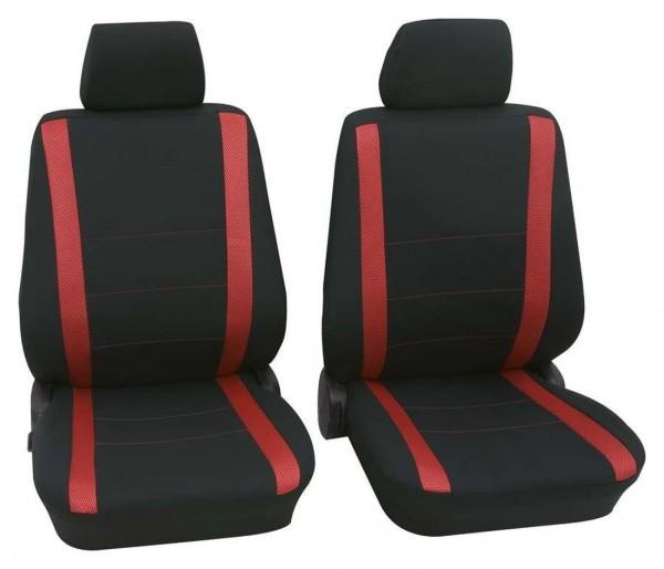 Suzuki nur Vordersitzbezüge, coprisedili, sedili anteriori, nero, rosso