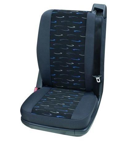 Veicoli commercial, Coprisedili per auto, 1 x sedile singolo posteriore, Hyundai H1, colore: grigio/blu