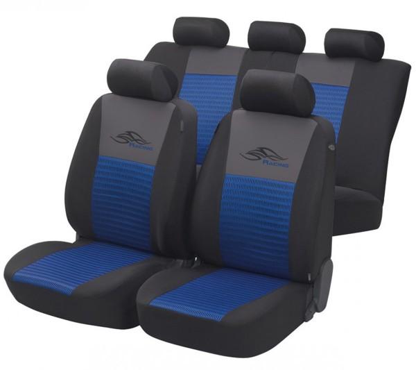Ford Ranger, coprisedili, set completo, blu, nero,